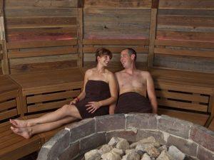 Deich-Sauna ostfriesische Banja-Zeremonie
