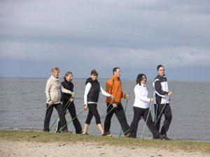 Präventionskurs Nordic Walking als Kompaktkurs