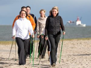 Nordisch Walking Nordsee
