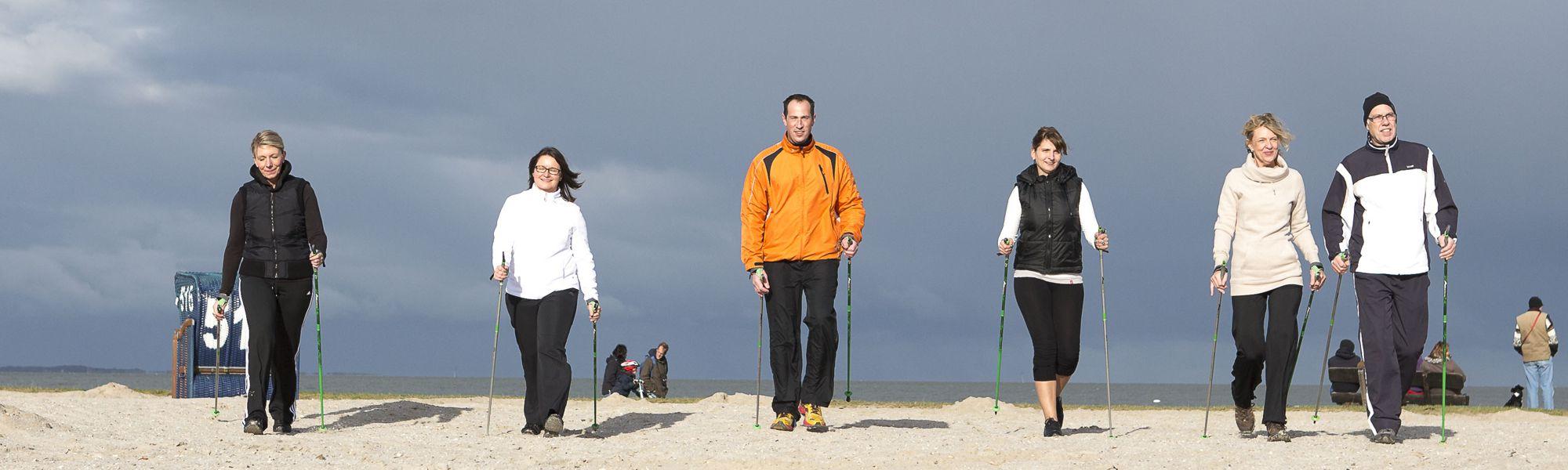 Nordisch Walking - Aktiv Urlaub an der Nordsee