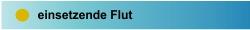 einsetzende Flut