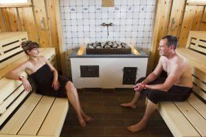 Strandhallen-Sauna im BadeWerk Neuharlingersiel