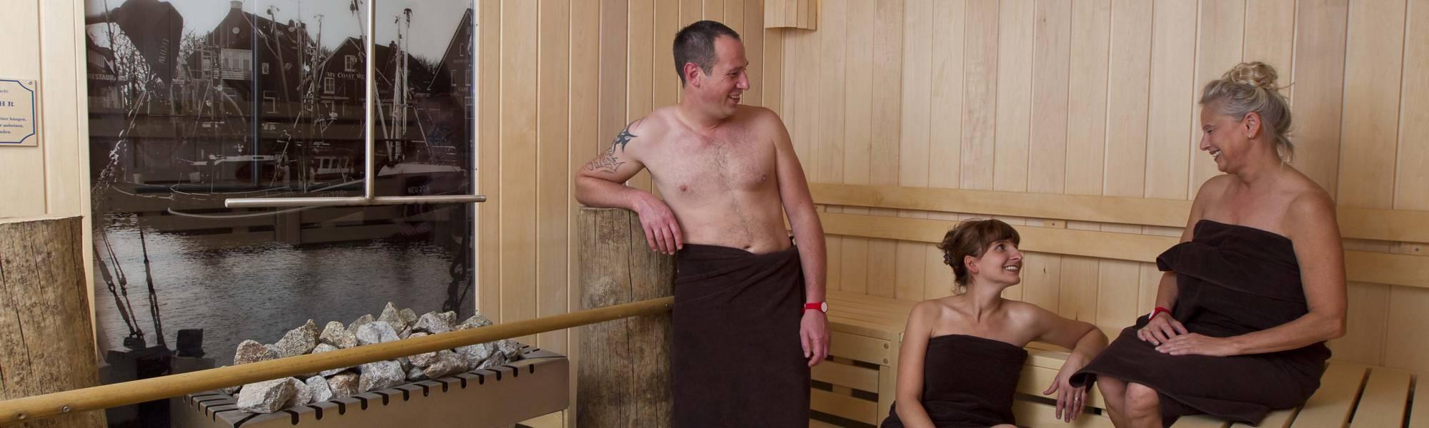 Hafen-Sauna in der Saunalandschaft des BadeWerk Neuharlingersiel